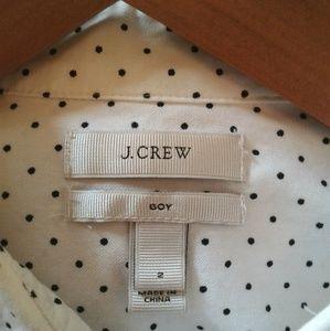 J.Crew Boy Polka Dot Button Up